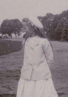 Grand Duchess Olga Nikolaevna Romanova of Russia at Peterhof in 1905. Empress Alexandra Feodorovna of Russia's 1903-1907 Photo Album•