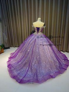 Purple Wedding Gown, Rapunzel Wedding Dress, Wedding Gowns, Purple Quinceanera Dresses, Purple Gowns, Purple Dress, Purple Ball Dresses, Purple Ballgown, Purple Evening Gowns