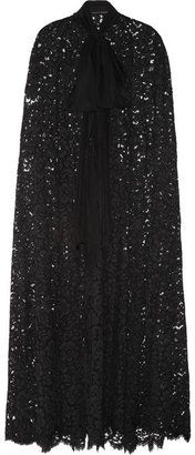 ShopStyle: Dolce & Gabbana Long lace cape