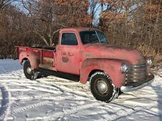 1949 5 Window Deluxe Chevrolet Pickup Truck 9' Foot Bed One Ton 3800 for sale: photos, technical specifications, description Classic Trucks For Sale, Chevy, Chevrolet, Advertising Tools, Retro Radios, New Tyres, New Carpet, Modern Retro, Pick Up