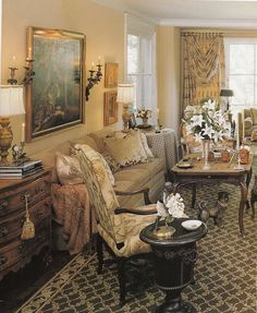 Hydrangea Hill Cottage: French Country Decorating. I am going to do these colors in the guest bath...