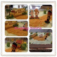 - created for a wonderful little boy Custom Birthday Cakes, Swirls, Little Boys, Dog Food Recipes, Create, Dog Recipes, Baby Boys, Infant Boys, Toddler Boys