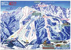 "Photo 1 of 16: Skiing themed 40th / Birthday ""Matthew's Mountain Ski Lodge""   Catch My Party"