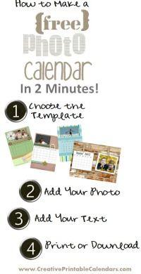 Photo Calendar 2014 - Free Printable Calendars