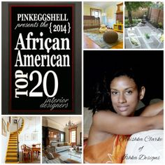 It's Day 20 on the African American Top 20 Interior Designers of 2014 countdown and it's time to recognize another fellow honoree. Let me introduce you to a Anishka Clarke of Ishka Designs. Anishka is based in Brooklyn, New York, but also serves Kingston, Jamaica. #AATOP20 #interiordesigners #amazingtalent