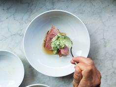 Estela chef Ignacio Mattos talks plating, flavor, and presentation
