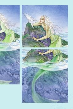 #ClippedOnIssuu from Pui mun law s dreamscapes creating magical angel, faery & mermaid worlds in watercolor 2009