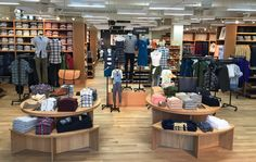 J. Crew Mercantile's first store, in Dallas.