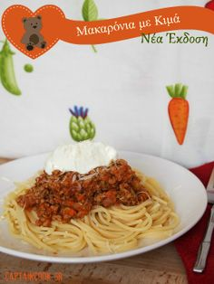 Captain Cook: Spaghetti with Bolognese