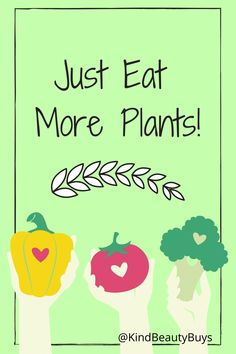 Being vegan and eating more plants will make you feel good on the inside, and make you look good on the outside. Try adding more plants to your diet today! Make You Feel, How To Make, Veganism, Going Vegan, Beauty Routines, Feel Good, Diet, Make It Yourself, Feelings