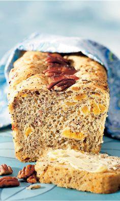 Aprikoosi-vuokaleipä | Maku Banana Bread, Desserts, Food, Tailgate Desserts, Deserts, Essen, Dessert, Yemek, Food Deserts