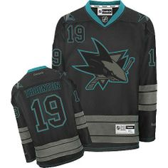 b695575a2 Joe Thornton-Buy 100% official Reebok Joe Thornton Men s Premier Black Ice  Jersey NHL San Jose Sharks  19 Free Shipping.