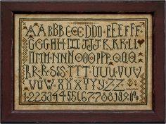 La-D-Da Alphabet love Lori Markovic, designs described as whimsical & primitive