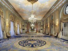 Cinderella Ballroom Film Set | El Palace Hotel Barcelona...the grand ballroom.