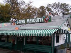 GREEN MESQUITE - Yummy Mesquite fired BBQ an AUSTIN original. You must check out the first location on Barton Springs road! http://greenmesquite.net/