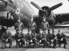 "B-17G ""Thunderbird"" and Crew"