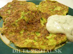 tofu-cuketova placka Tofu, Cauliflower, Vegetables, Cauliflowers, Vegetable Recipes, Cucumber, Veggies