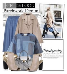 """""""Tricky Trend: Patchwork Denim....."""" by glamorous09 ❤ liked on Polyvore featuring White Label, Melissa, Isolde Roth, Zara, 3.1 Phillip Lim, River Island, Lucky Brand and patchworkdenim"""