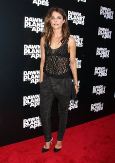 Pin for Later: 16 Reasons Keri Russell Is Really a Total Fashion Girl She can actually pull off going sheer