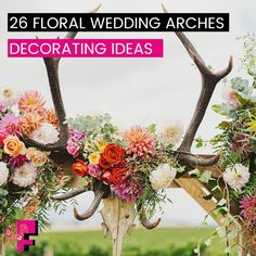 26 Floral Wedding Arches Decorating Ideas One of the most photographed elements of the wedding ceremony is the wedding altar. As the bride and groom hold hands, exchange vows and share their first kiss as husband and wife, cameras will be snapping away, capturing these romantic moments and the wedding altar that surrounds.  Read More>>https://goo.gl/fg5Iph  or http://www.fatimafloral.com/ #DIYWedding #WeddingCeremonies #WeddingStage #WeddingFlowers #flowerdecoration #FloralWedding…