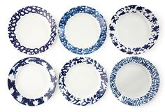 My husband would kill me if I bought one more plate... these are just perfect for a country look and could mix in with William Sonoma's pantry set!