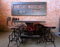 25 Sleek Industrial Furniture Finds - Decoist