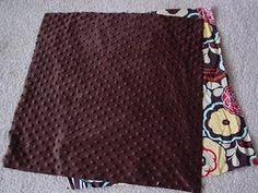 carseat blanket tutorial....@Louise Silveria, want a little blanket with the extra?