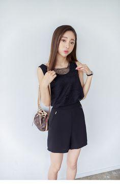 Linen vest + shorts - AddOneClothing - 2