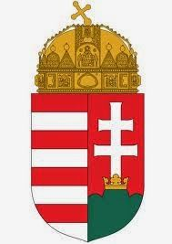 Hungarian Coat of Arms - my great-grandparents are from Hungary Hungary History, Budapest Hungary, My Heritage, Crests, Coat Of Arms, Places Around The World, Art Decor, Medieval, Badge