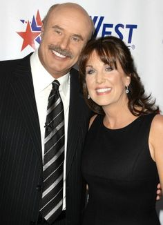 Dr. Phil & Robin McGraw. two extremely ispirational people. <3 would love to meet them one day.