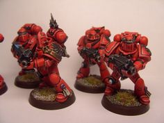 My Nephew is really into war hammer, Blood angels are his choice! He is almost 10 now so I need to get an interest to share with him or I'll never see him once he figures out I'm old, dull and boring.....