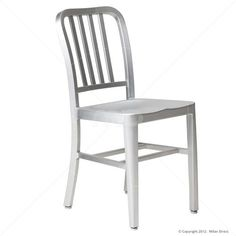 Milan Direct US Navy Aluminium Chair   $99