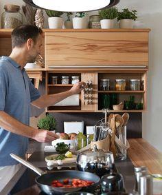 Awesome Vollholzk che rondo mit praktischem Eckschrank Auszug K k Pinterest Solid wood Solid wood kitchens and Kitchen corner