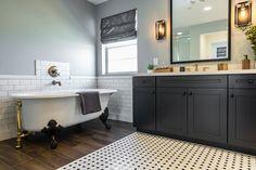 Master Bath at Strada Plan 3 | Pardee Homes Las Vegas