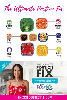 Introducing: The Ultimate Portion Fix! This is your personal guide to understand. - Introducing: The Ultimate Portion Fix! This is your personal guide to understanding the 21 Day Fix - Beachbody Meal Plan, Beachbody 21 Day Fix, 21 Day Meal Plan, 21 Day Fix Meal Plan, 1200 Calories, 21 Day Fix Recipies, 21 Day Fix Diet, 21 Day Fix Snacks, 21 Fix