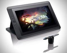 Wacom Cintiq 13HD Multi Touch Tablet. I want one.