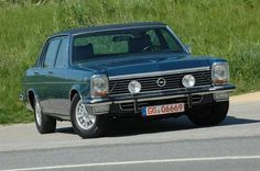 Germany's big American style cruiser - the Opel Diplomat B with 5.3 liter V8 Chevy engine.