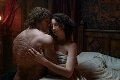 "NEW HQ Still of Jamie and Calire from Outlander 3×06 ""A. Malcolm"" 