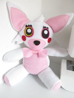 Mangle Plush Inspired by Five Nights at Freddy's by FabroCreations