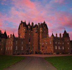 Glamis Castle, Scotland, night all!