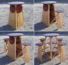 Awesome Foldable Table U0026 Chairs