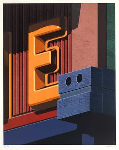 Ghosts Of The Great Highway: 10 Fine Examples. The Artwork Of Robert Cottingham.