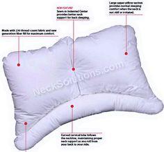 details of pillow