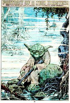 Yoda Pin Up Art by Marie Severin