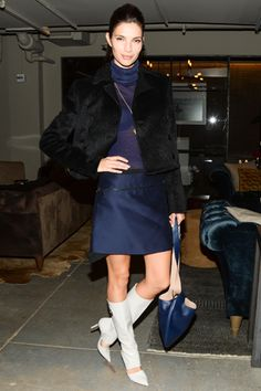 30 Fall Party Looks From The Pros #refinery29 Teresa Moore - Ferragamo