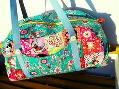 #Taschenpieler #könig #farbenmix Meine neue Reisetasche aus #swafing geishastöffle... mehr dazu im blog