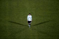 Argentina's Lionel Messi after his team's loss to Chile in the Copa America final in Santiago, July — Reuters pic Lionel Messi, Messi 2015, Penalty Shoot Out, Leo, Fc Barcelona, Chile, Soccer, America, Sports