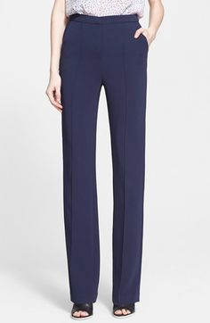 Rebecca+Taylor+High+Waist+Pants+available+at+#Nordstrom