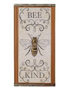 Bee Kind Wall Decor