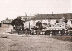 Antigua imagen de la Cibeles.MADRID